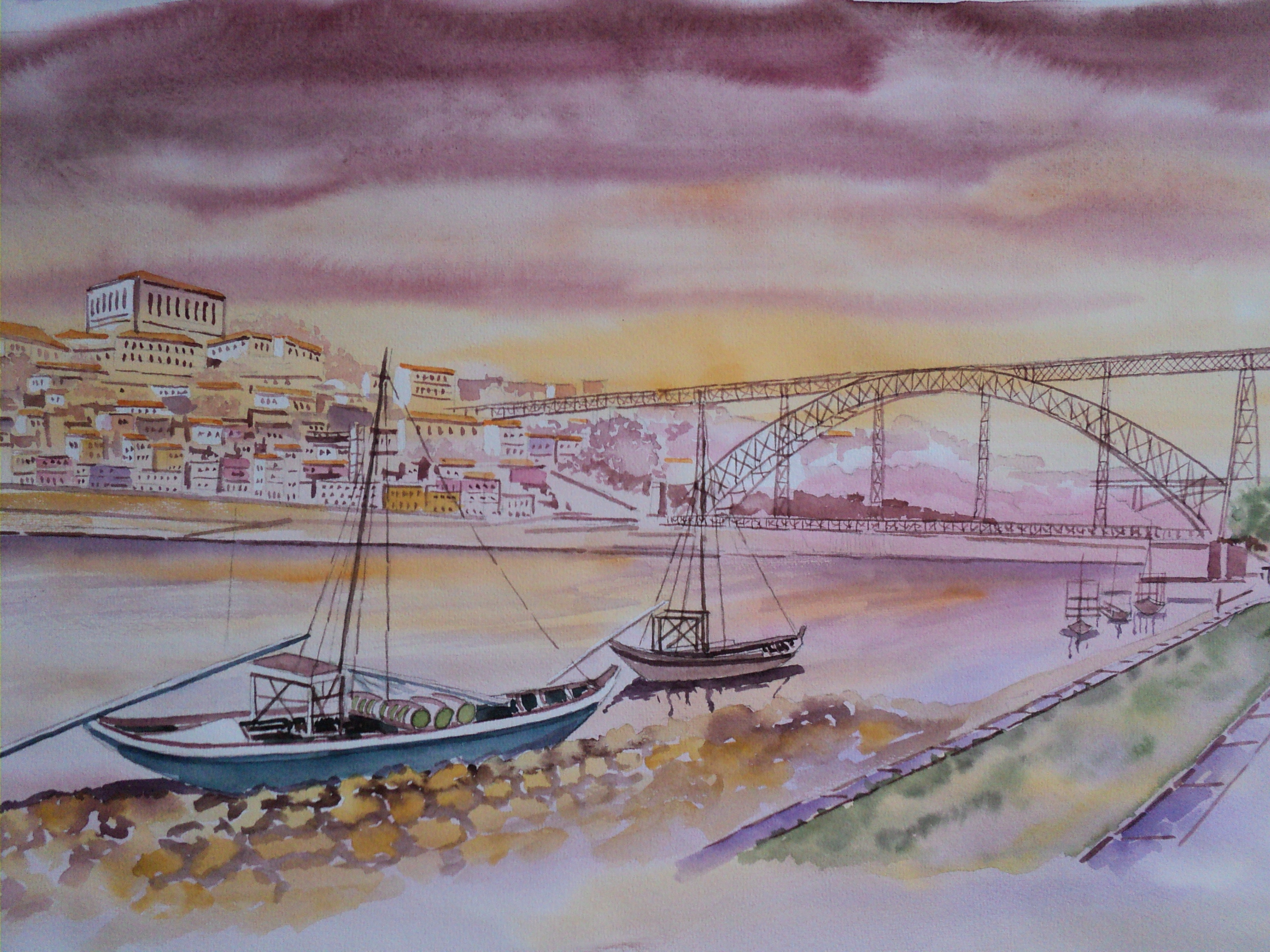 Aquarela do Porto
